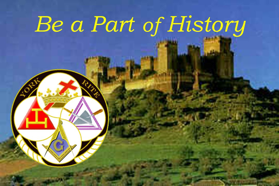 Be a Part of History