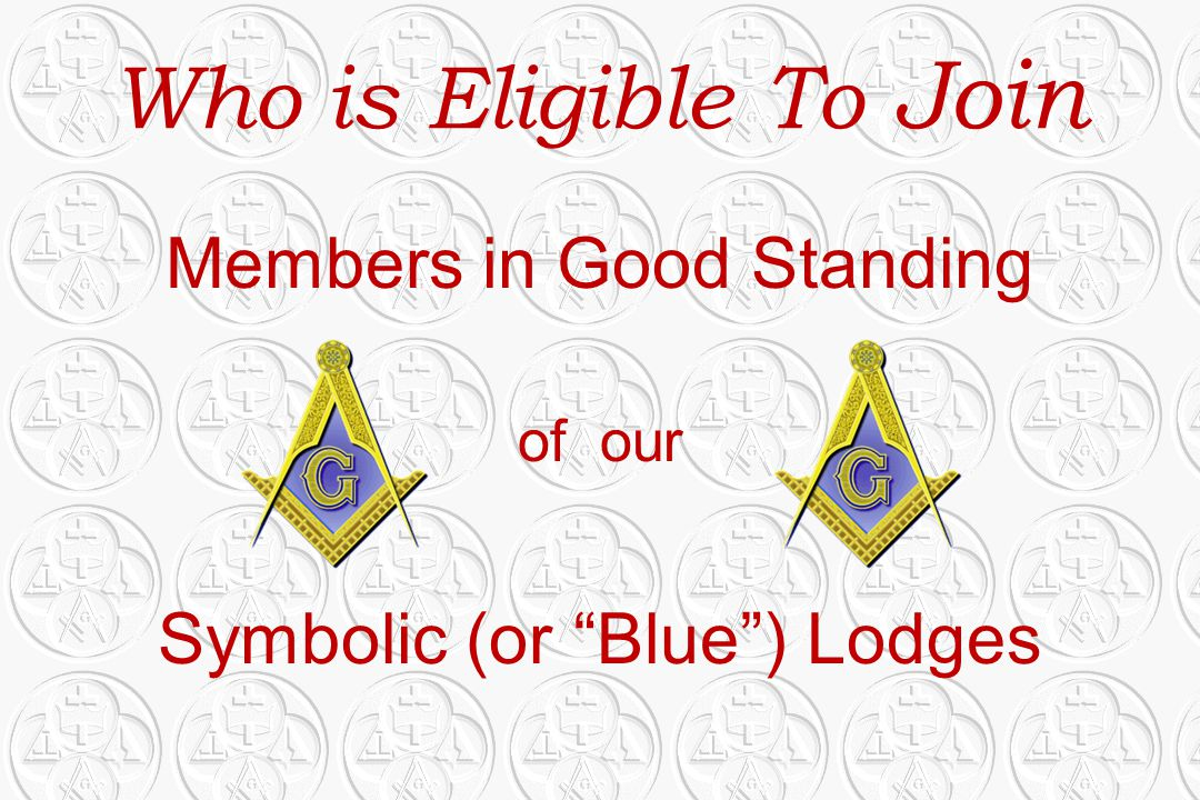 Who is Eligible To Join Members in Good Standing