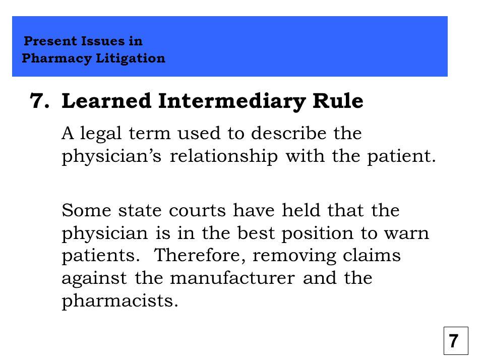 Learned Intermediary Rule