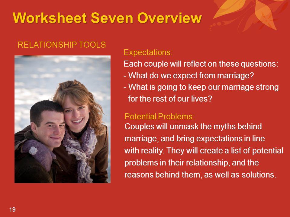 Worksheet Seven Overview