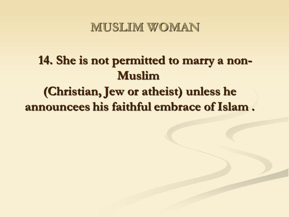 MUSLIM WOMAN 14.