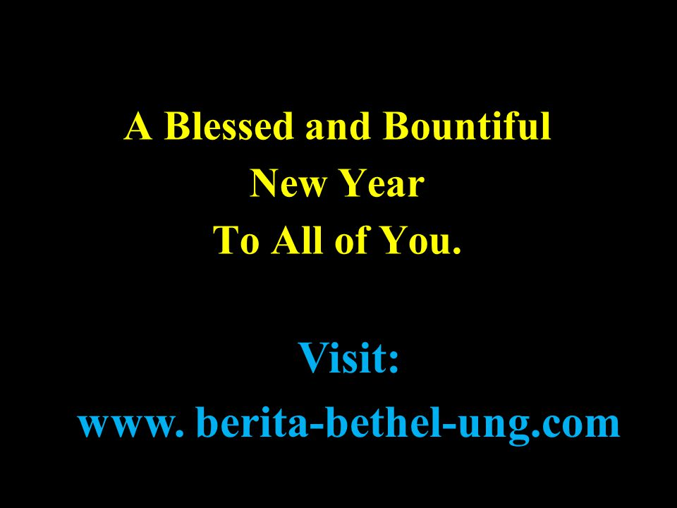 A Blessed and Bountiful www. berita-bethel-ung.com