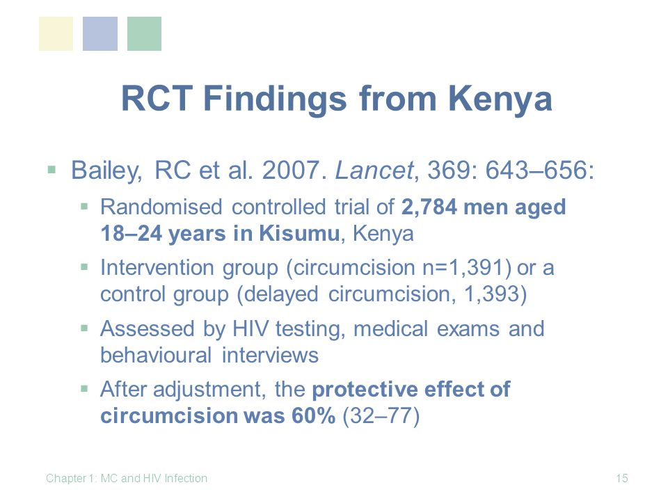 RCT Findings from Kenya