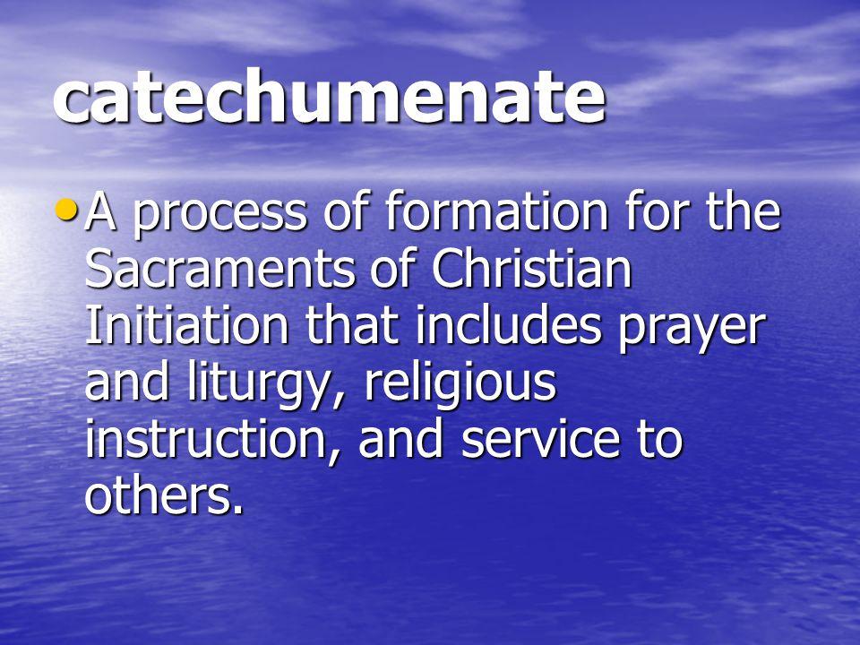 catechumenate