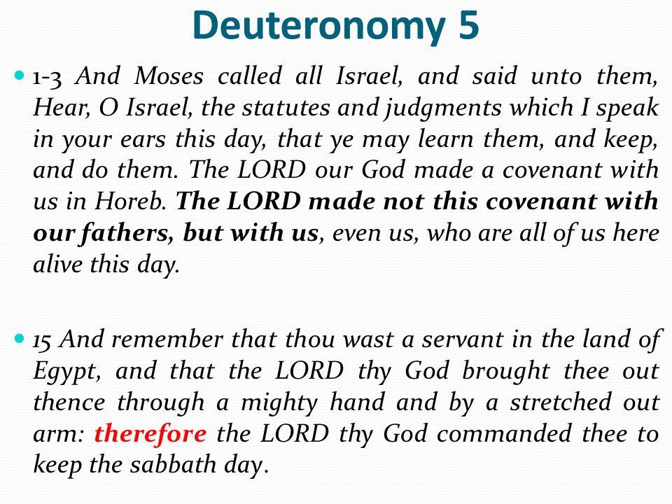 Deuteronomy 5
