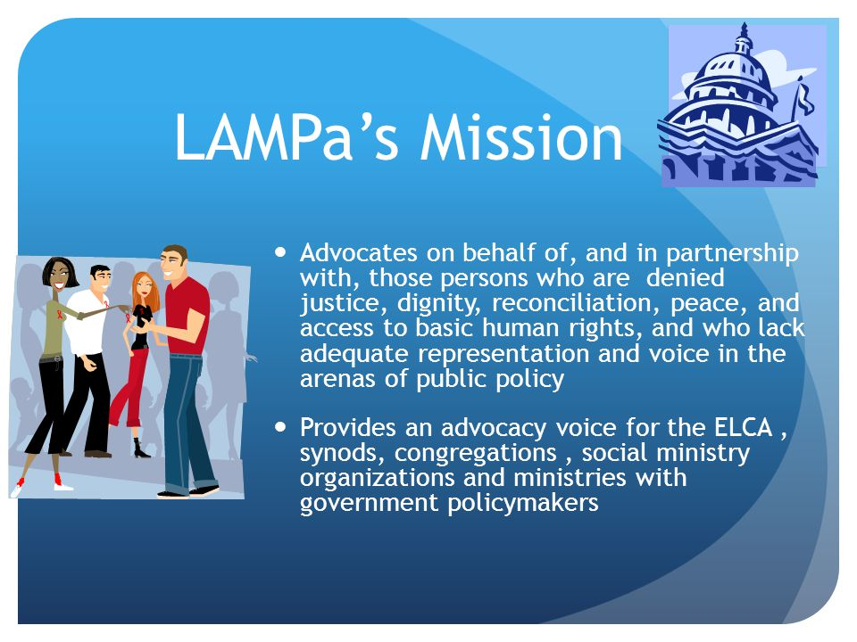 4/12/2017 LAMPa's Mission.
