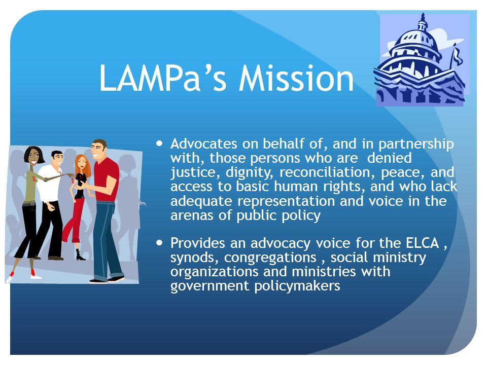 4/12/2017 LAMPa's Mission.