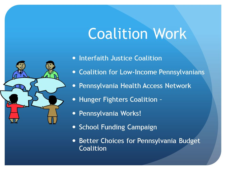 Coalition Work Interfaith Justice Coalition