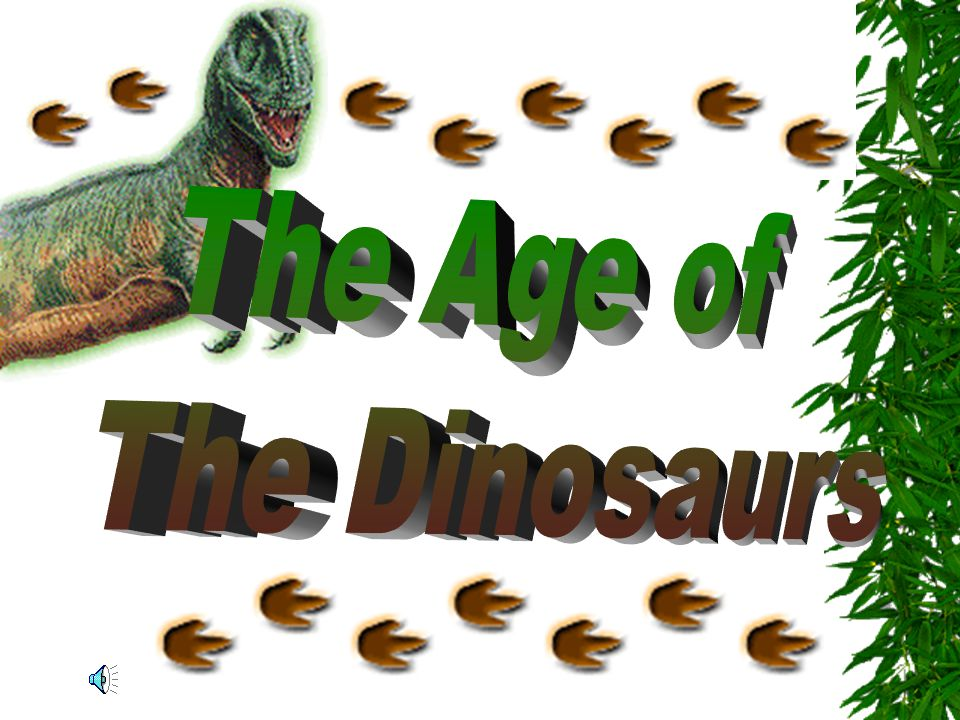The Age of The Dinosaurs
