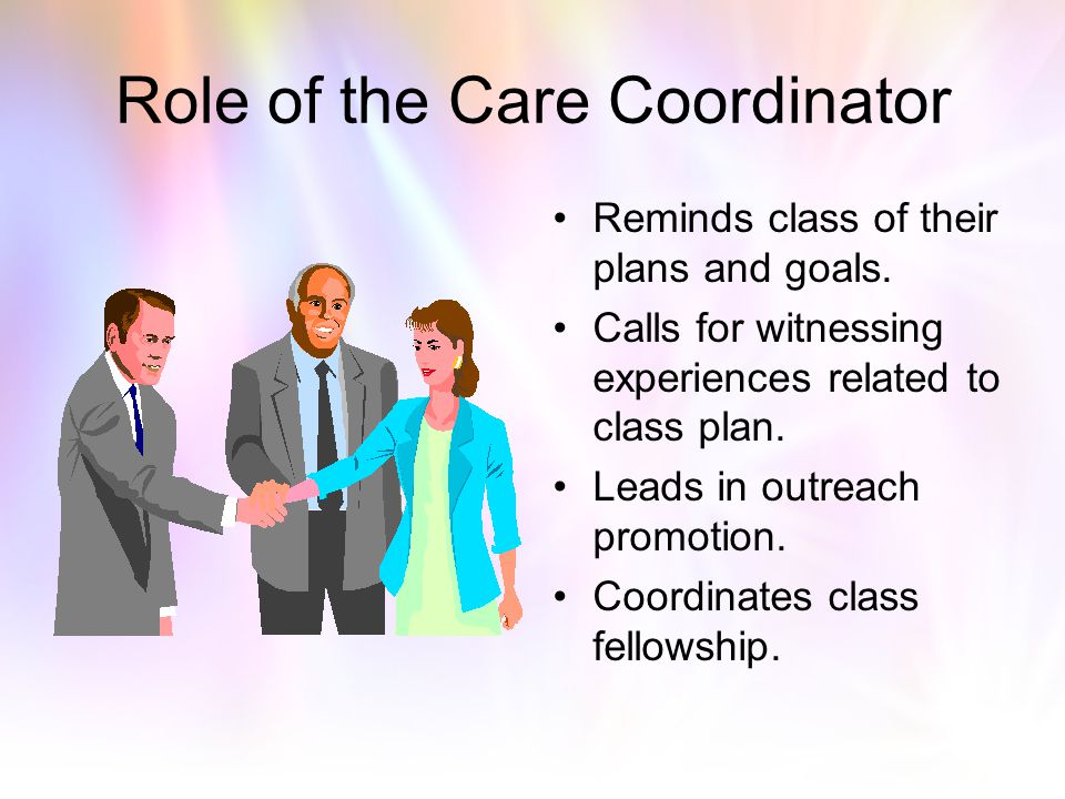Role of the Care Coordinator
