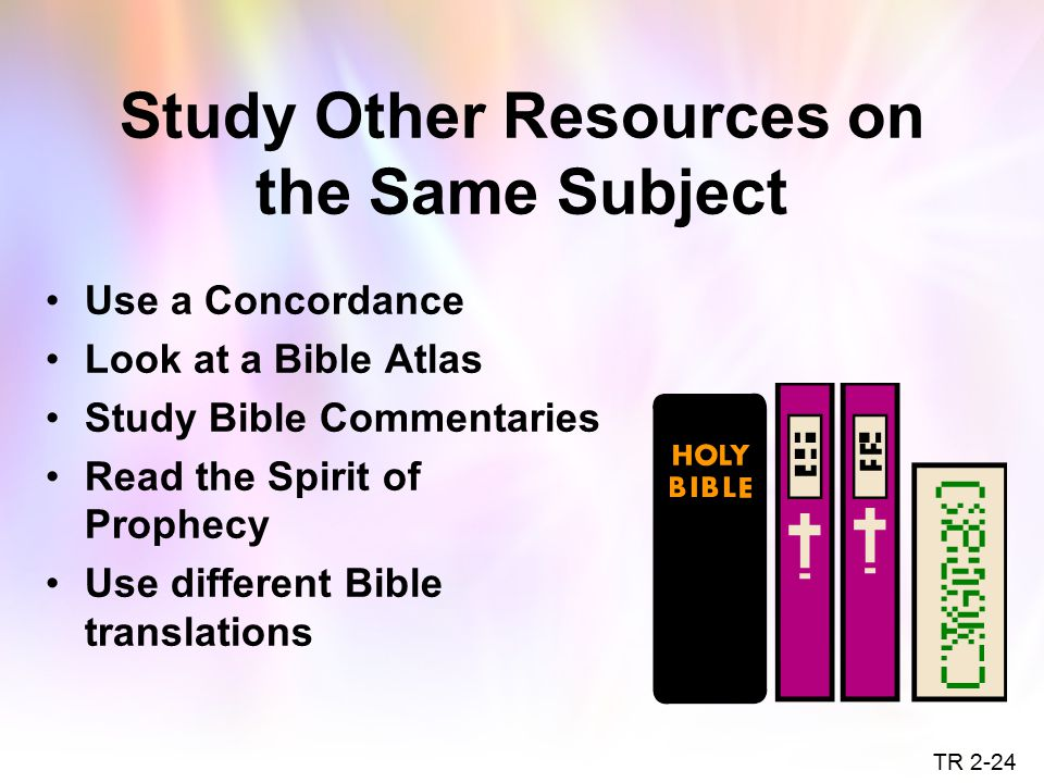 Study Other Resources on the Same Subject