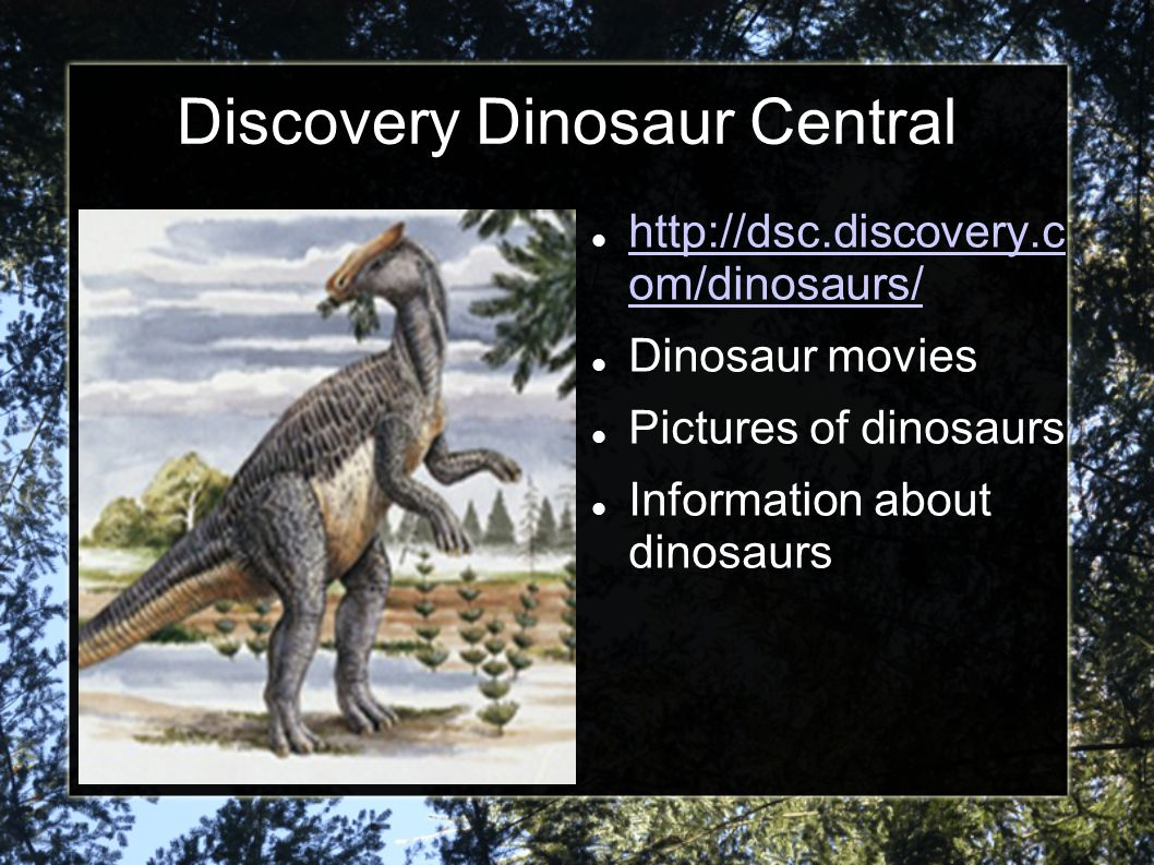 Discovery Dinosaur Central