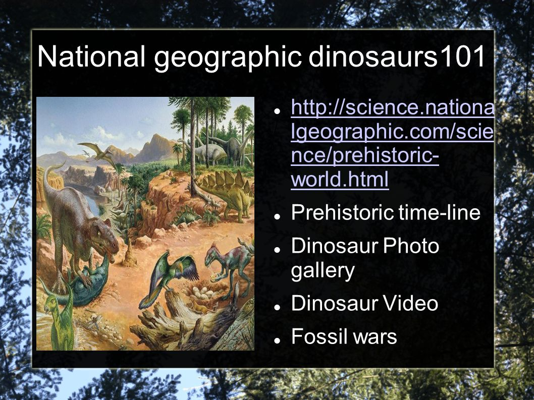 National geographic dinosaurs101