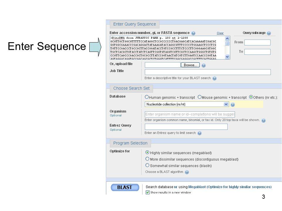 Enter Sequence