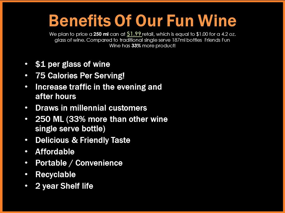 Benefits Of Our Fun Wine