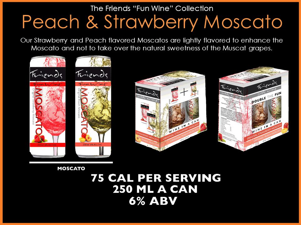Peach & Strawberry Moscato