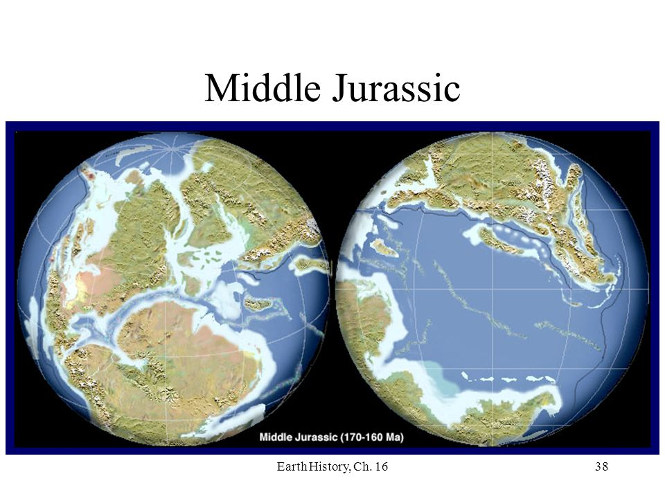 Middle Jurassic Earth History, Ch. 16