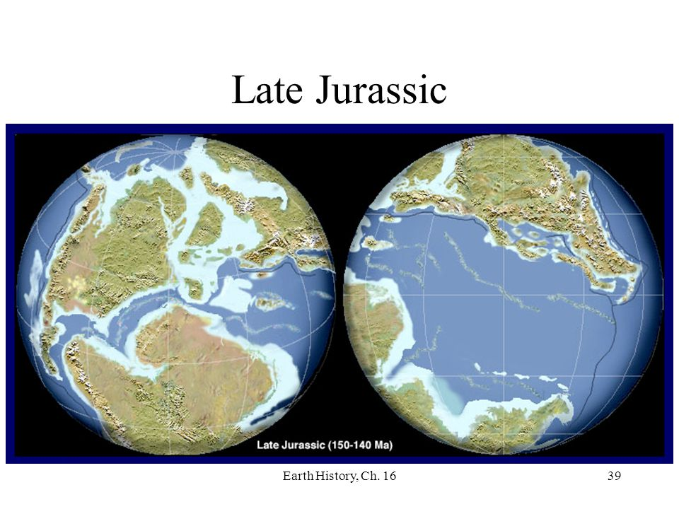 Late Jurassic Earth History, Ch. 16