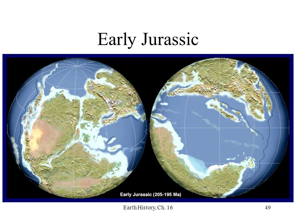 Early Jurassic Earth History, Ch. 16