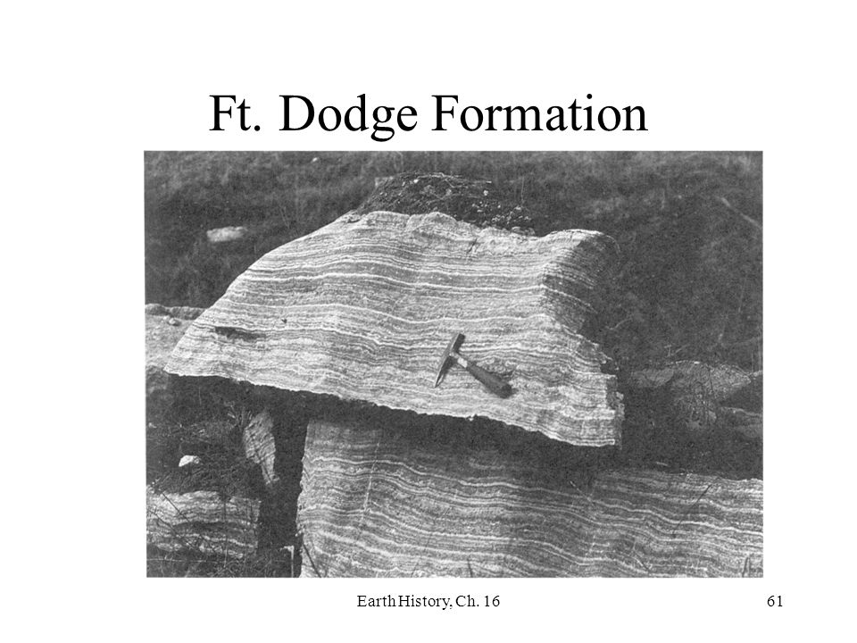 Ft. Dodge Formation Earth History, Ch. 16