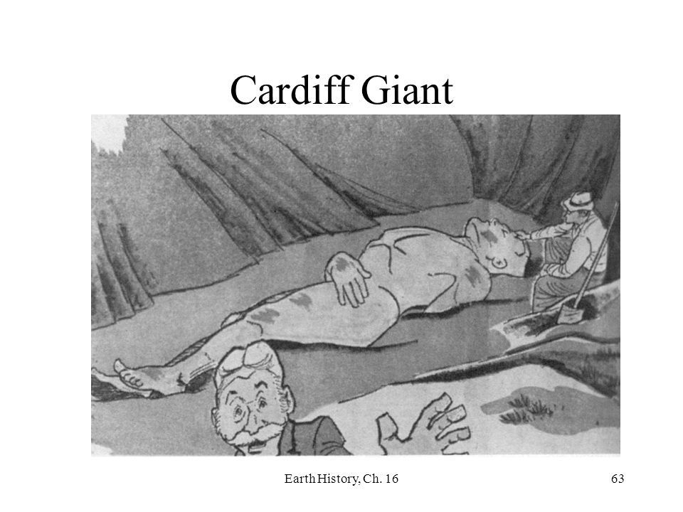Cardiff Giant Earth History, Ch. 16