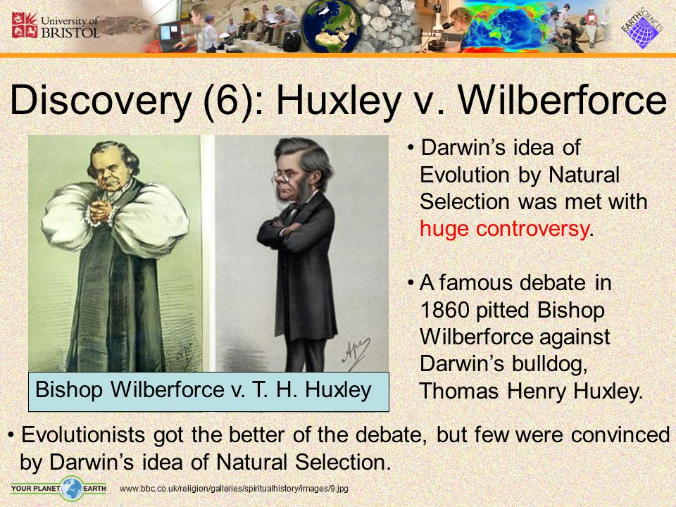 Discovery (6): Huxley v. Wilberforce