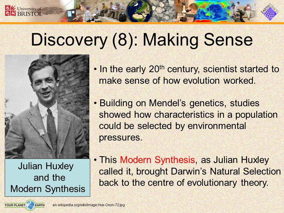 Discovery (8): Making Sense