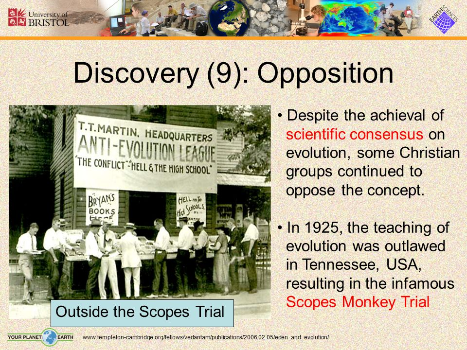 Discovery (9): Opposition