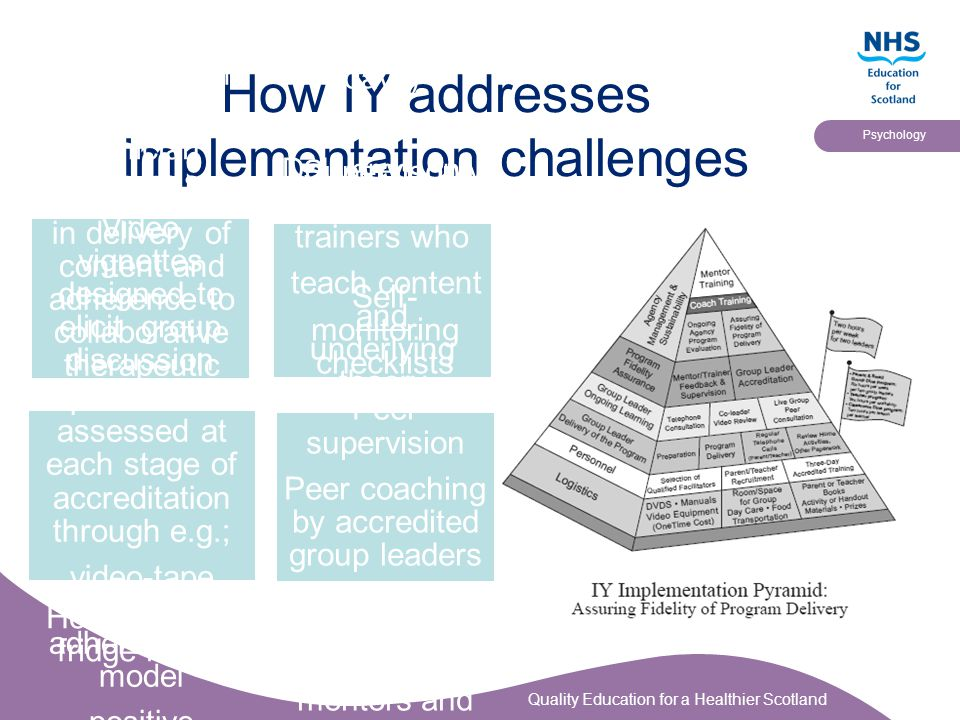 How IY addresses implementation challenges