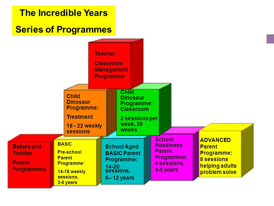 The Incredible Years Series of Programmes