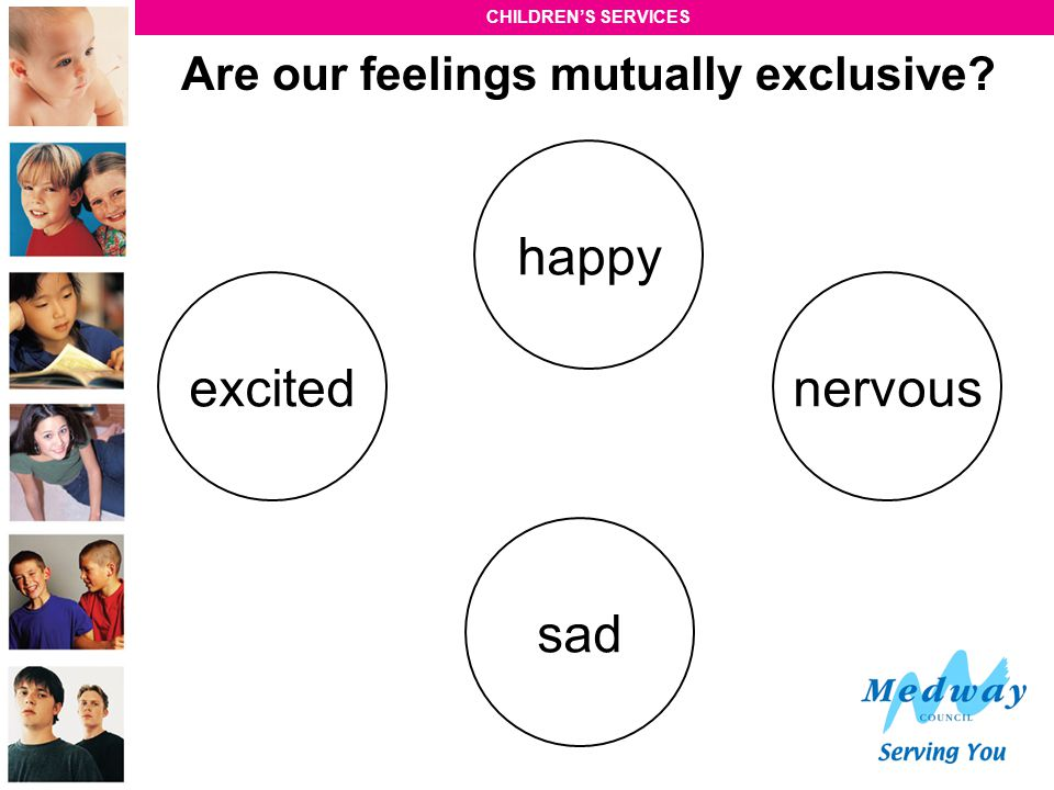 Are our feelings mutually exclusive