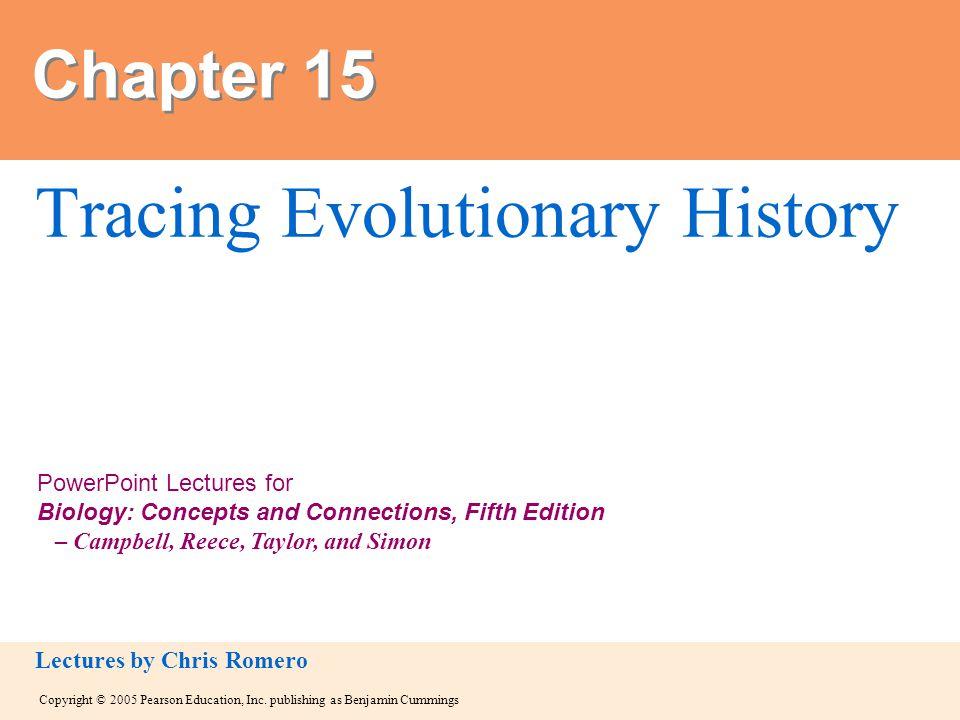 Tracing Evolutionary History