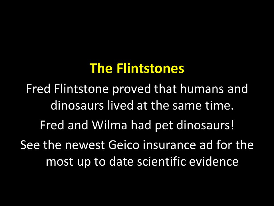 Fred and Wilma had pet dinosaurs!