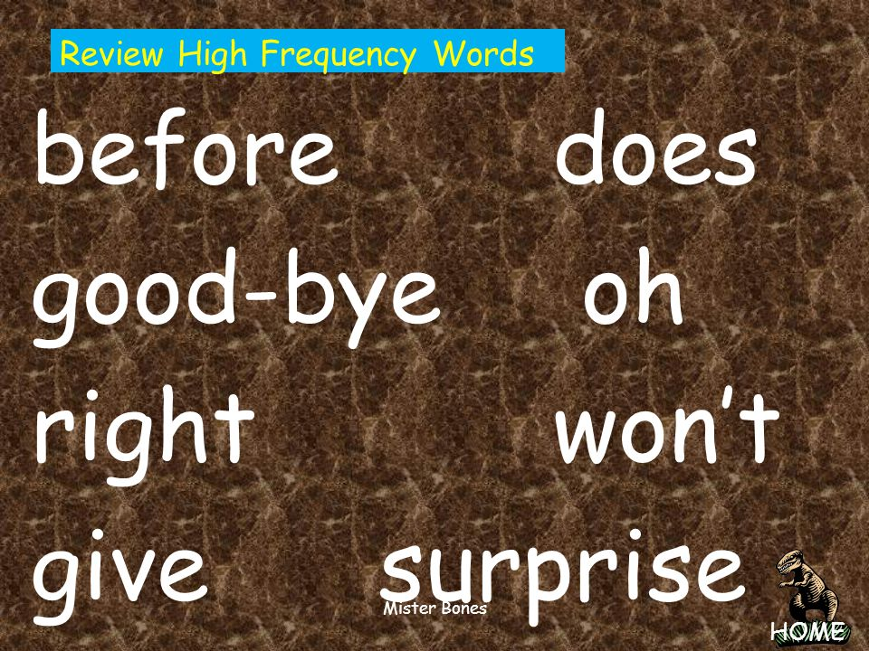before does good-bye oh right won't give surprise