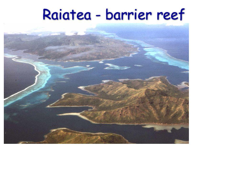 Raiatea - barrier reef
