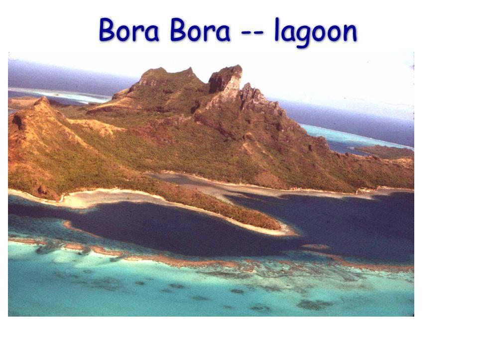 Bora Bora -- lagoon