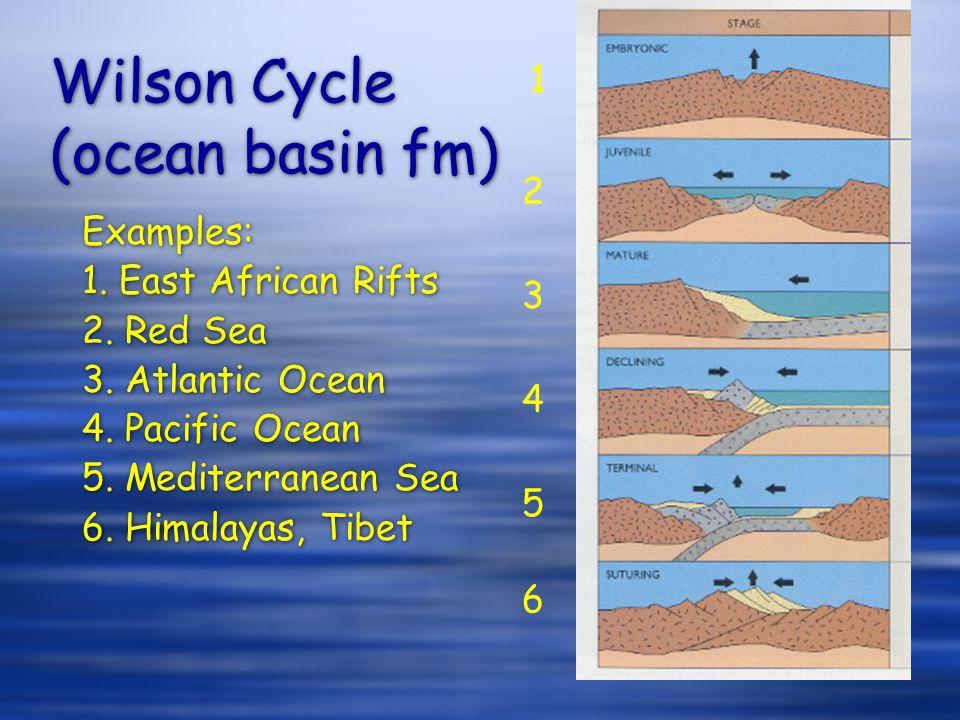 Wilson Cycle (ocean basin fm)