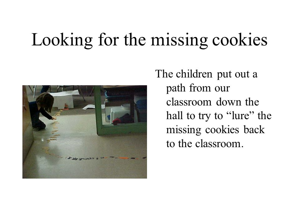 Looking for the missing cookies