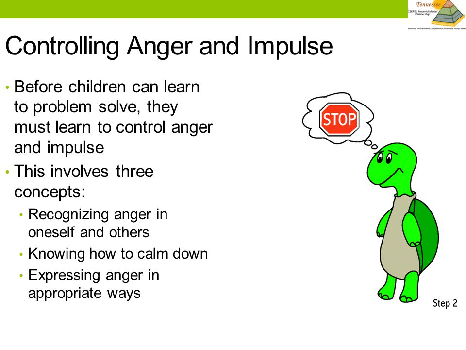 Controlling Anger and Impulse