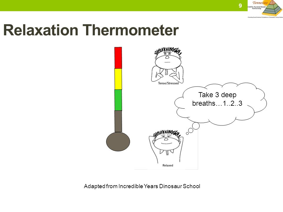 Relaxation Thermometer
