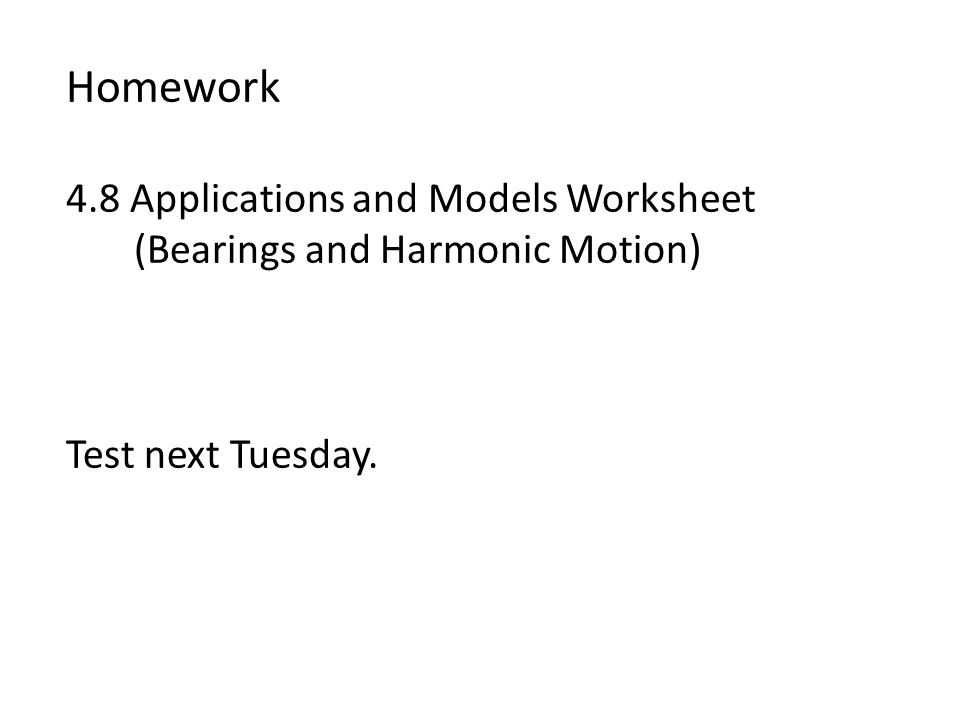 Homework 4.8 Applications and Models Worksheet