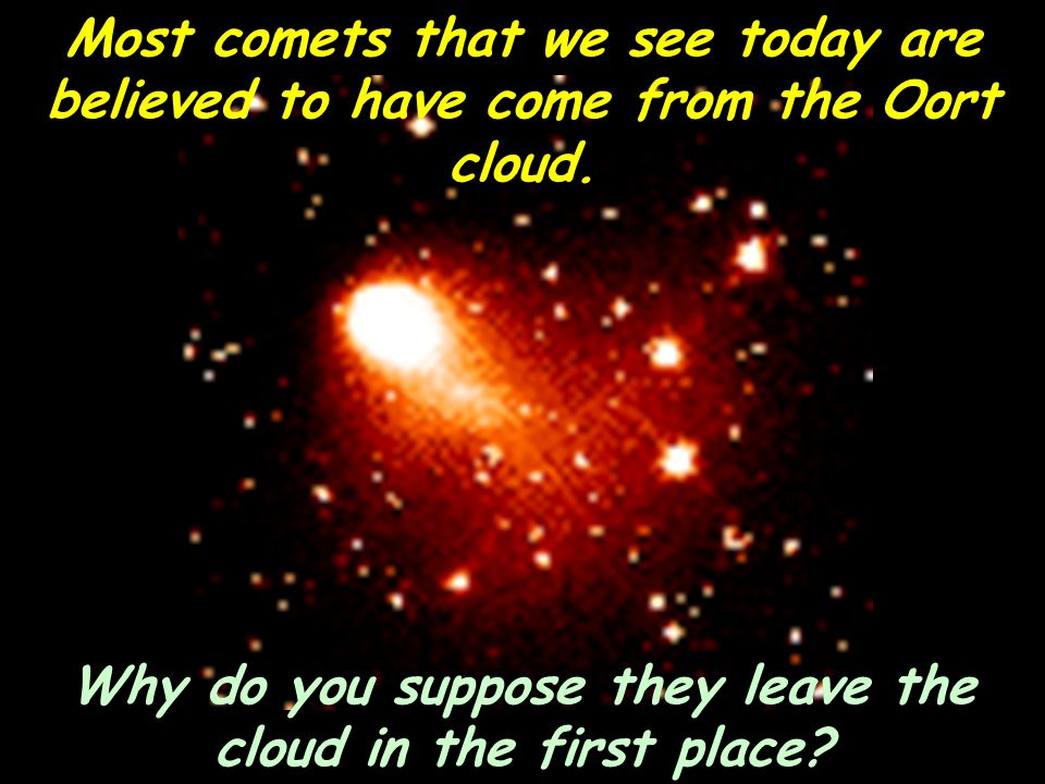 Why do you suppose they leave the cloud in the first place