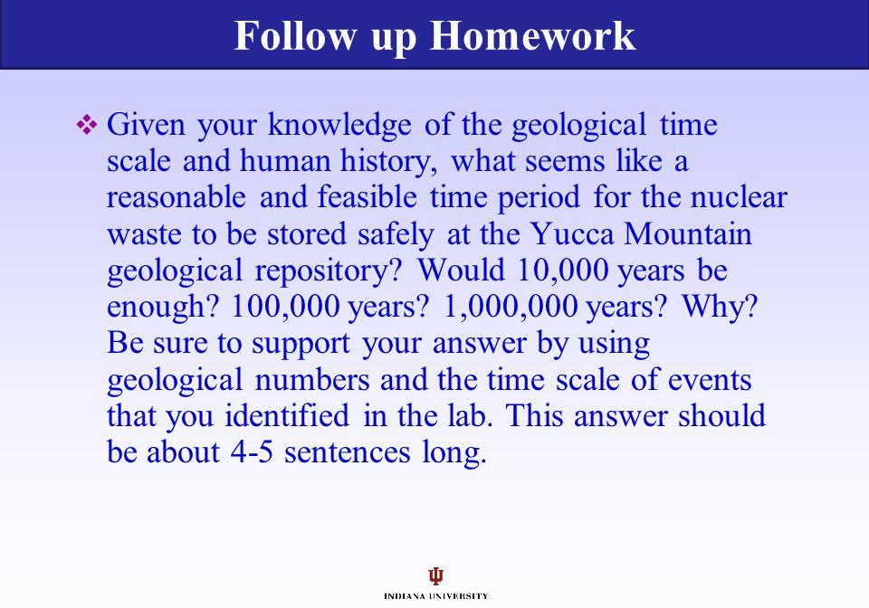 Follow up Homework