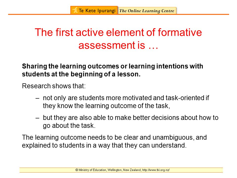 Planning For Formative Assessment Online Workshop  Ppt Download