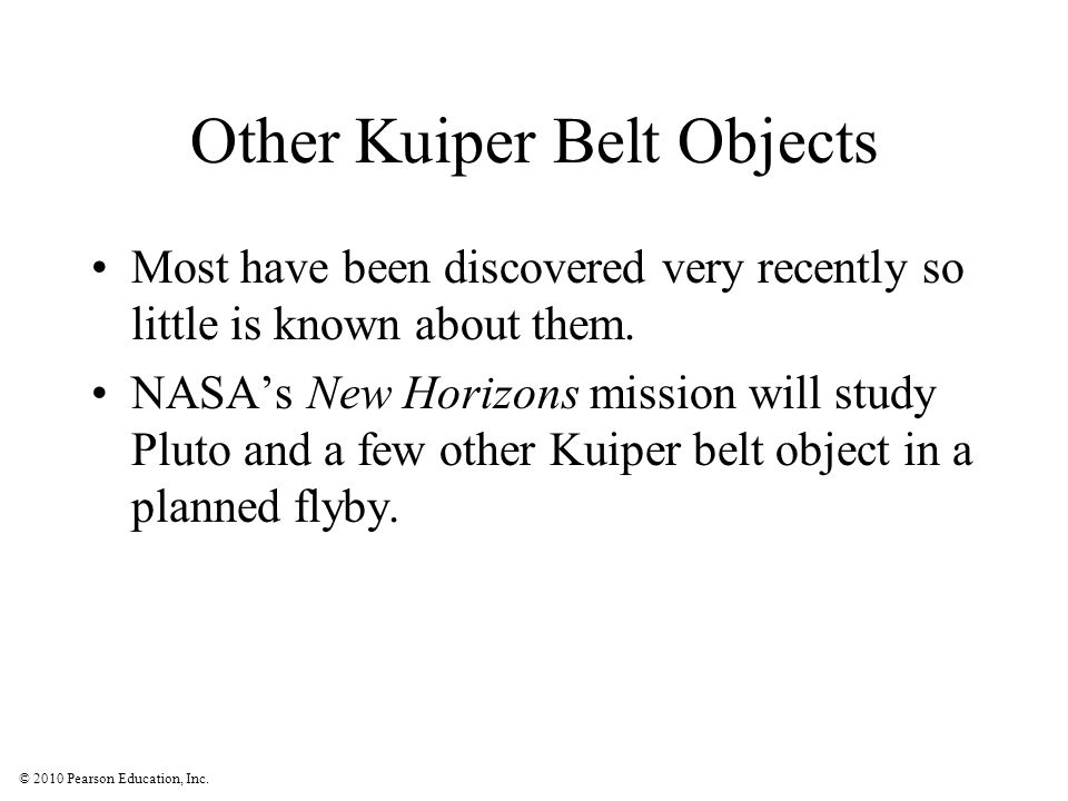 Other Kuiper Belt Objects