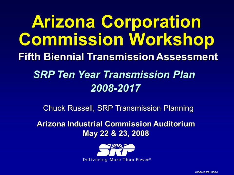 Arizona Corporation Commission Workshop