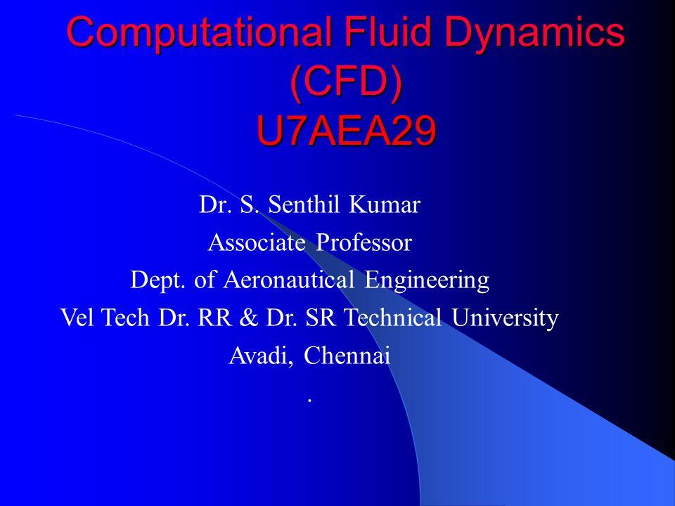 Computational Fluid Dynamics (CFD) U7AEA29