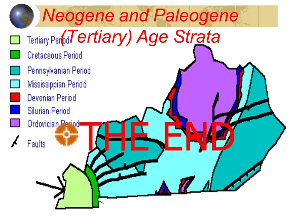 Neogene and Paleogene (Tertiary) Age Strata