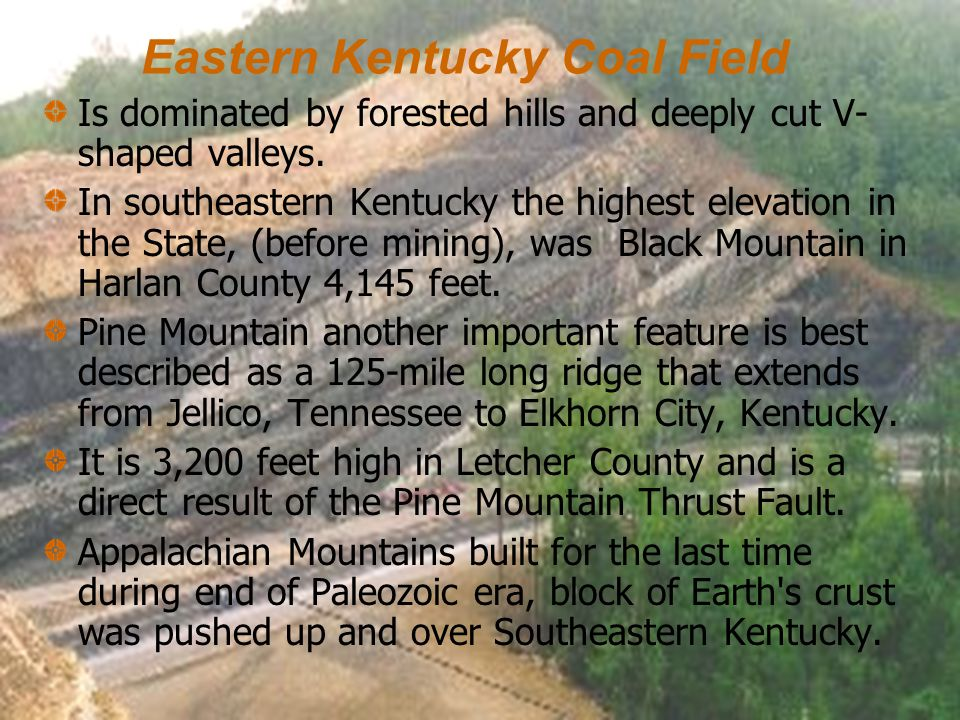 Eastern Kentucky Coal Field