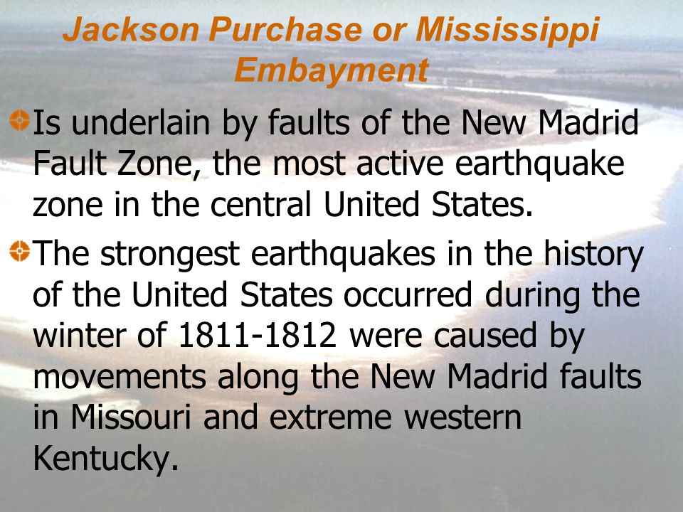 Jackson Purchase or Mississippi Embayment